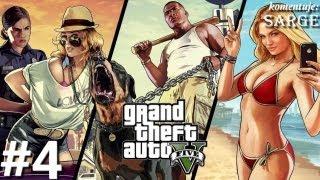 Zagrajmy W GTA 5 (Grand Theft Auto V) Odc. 4 Pościg Za