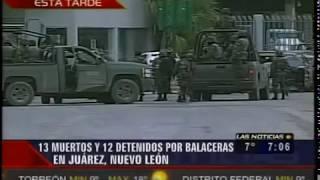 Fuerte Balacera En Reynosa Deja 13 Sicarios Muertos Y 12