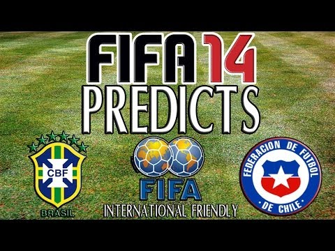 FIFA 14 Predicts Brazil v Chile 20/11/2013