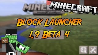 Block Launcher Pro 1.9 Beta 4 Minecraft PE 0
