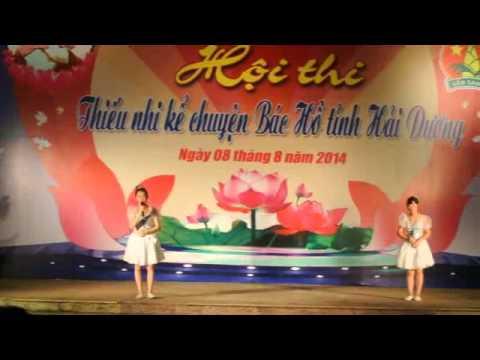 Chúng em kể chuyện Bác Hồ p1- THCS Phan Bội Châu - Tứ Kỳ