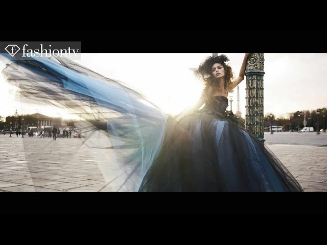 "Vincent Licari Couture Shoot by Eric Ouaknine | London Grammar ""Wasting My Young Years 