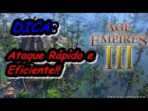 Age of Empires 3 Dica para atacar rápido logo no começo