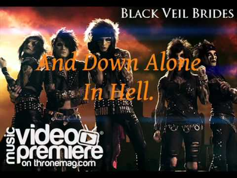 Black Veil Brides Fallen Angels Lyrics - YouTube