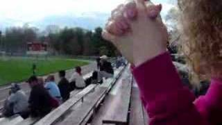 Angry Mother At Girl's Soccer Game