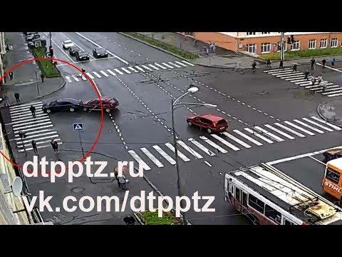 Пешеход спровоцировал ДТП, сбежать не удалось