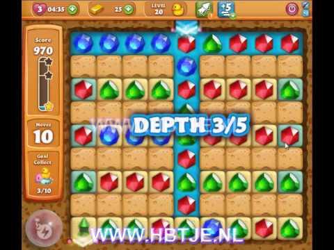 Diamond Digger Saga level 20