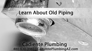 [Learn About Old Piping With Plumber Brett Cadiente] Video