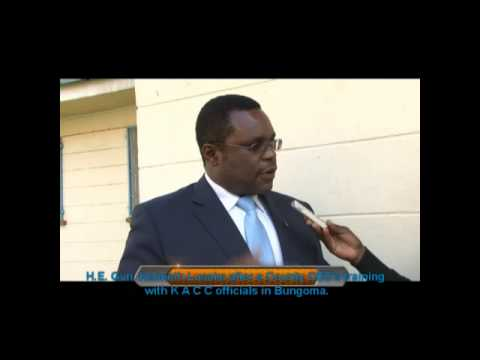 Bungoma County: Governor`s Press Briefing  after the EACC Training