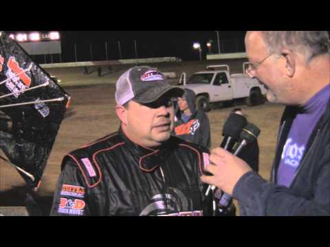 Trail-Way Speedway 358 Sprint Car Victory Lane 4-18-14
