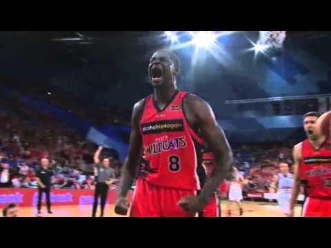Perth Wildcats - James Ennis NBL Player of the Month - October 2013