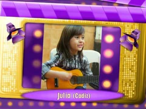 Julia Gonçalves - 5ª finalista de Hannah Montana, luces camara, ¡acción!