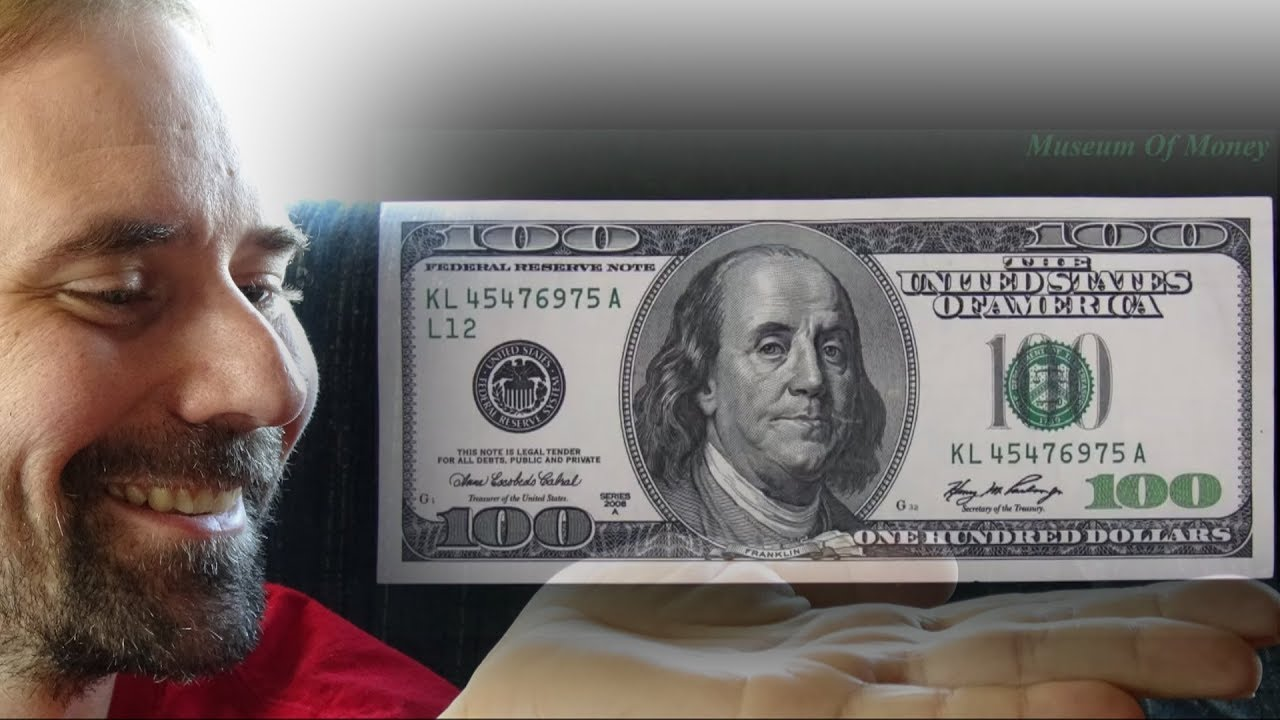 100 Dollar Bill series 2006 A _ Museum of Money - YouTube