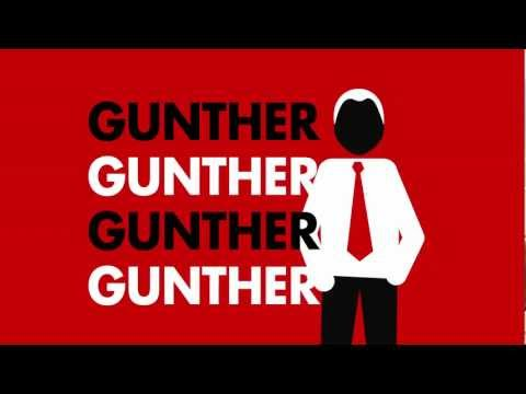 GUNTHER: FRIENDS CAMPAIGN Comedy Central Uk