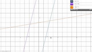 Reševanje sistema dveh enačb grafično 4