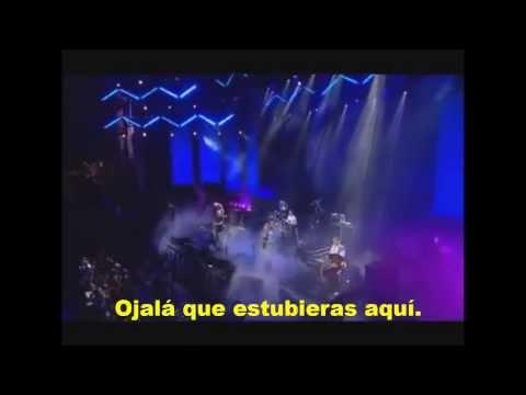 Wish You Were Here - Pink Floyd (Subtitulado en español) Live 8