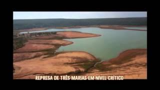 N�vel de �gua na represa de Tr�s Marias pode chegar a 5% da capacidade