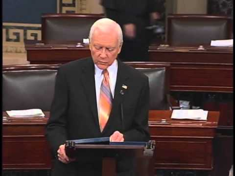 Senator Hatch's Farewell Speech to Senator Max Baucus