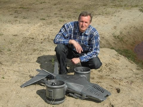 Hunter-Killer aerial Terminator, flying RC Model from Native18