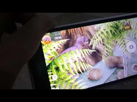 Màn Hình Full HD Sony Z1 Qua Cảnh Khủng Long