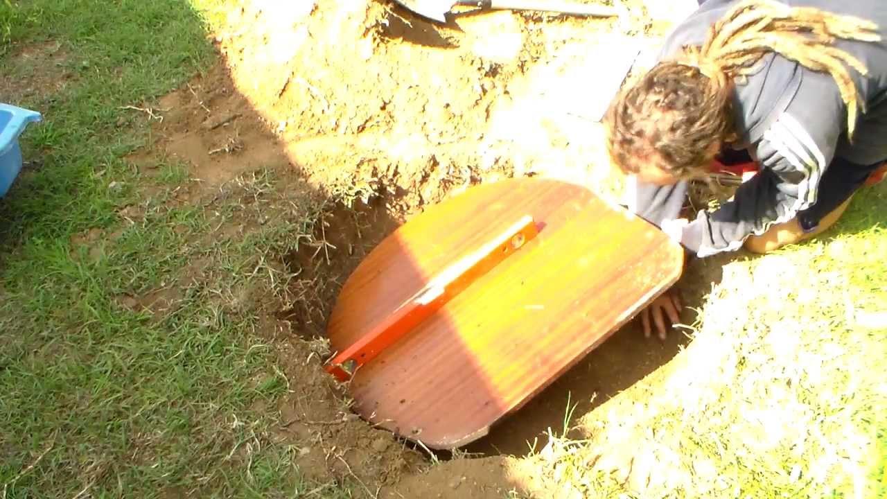 Estanque casero para el jardin capitulo 3 youtube for Estanque para jardin casero
