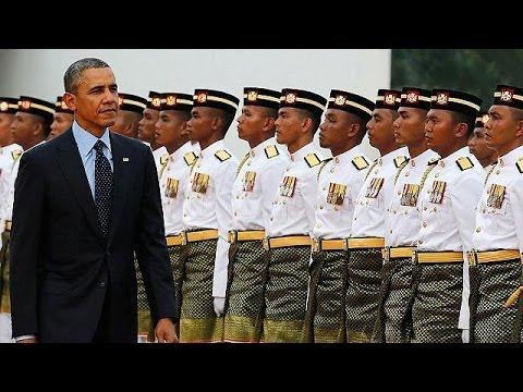 Obama pursues Asian tour in Malaysia