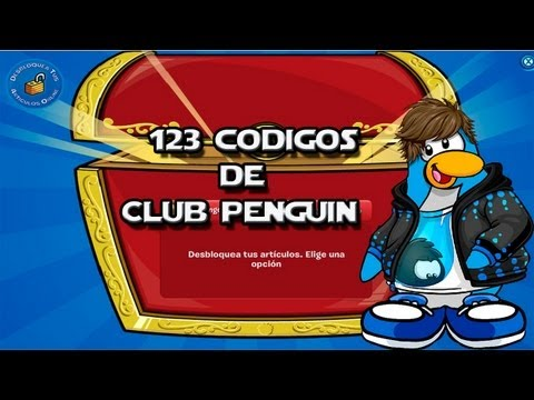 ¡¡¡123 Codigos de Club Penguin!!! (Para desbloquear Ropa)