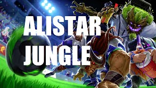 League Of Legends Alistar Jungle Full Game With
