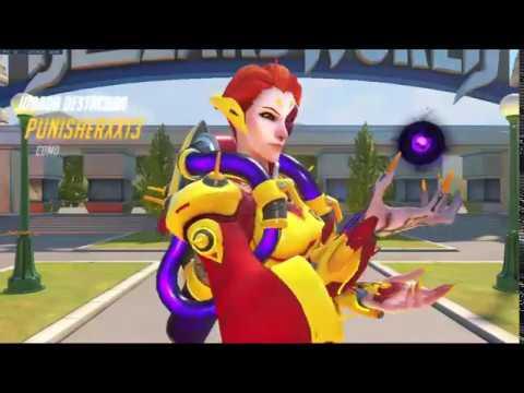 Overwatch gameplay moira by punisherxx13