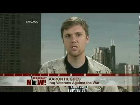 Decorated Iraq War Veteran Aaron Hughes to Return Military Medals at Anti-NATO Protest