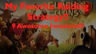BEST WAY TO ATTACK (MY Favorite Strategy!) IN Clash Of