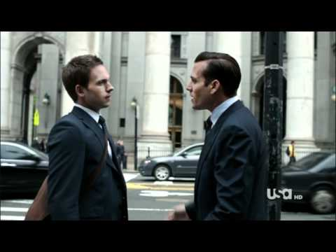 SUITS: Shattered (Harvey/Mike, slash)