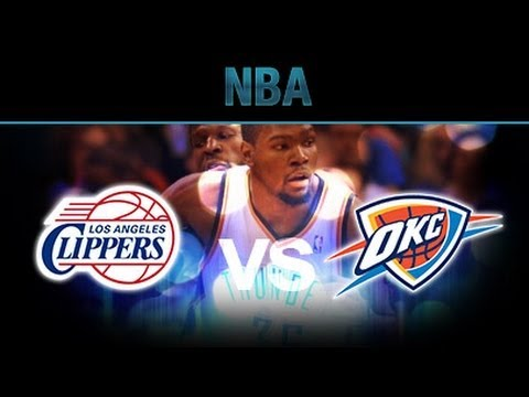 NBA Playoffs 2014 Los Angeles Clippers vs Oklahoma City Thunder 2nd round Preview Prediction