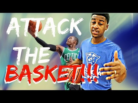 Attacking The Basket - Basketball Finishing Moves