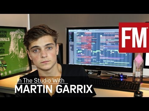 Martin Garrix In The Studio With Future Music