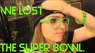 SEAHAWKS FAN CRIES AT THE END OF SUPER BOWL XLIX