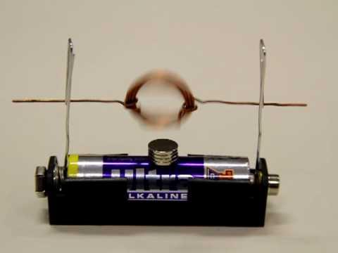 Mini Elektro motor zum Selberbauen