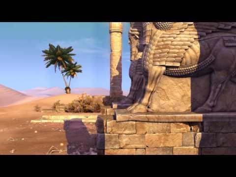 Panzar: Forged by Chaos / Карта Храм Песчаных Бурь