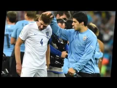 FIFA World Cup 2014 England vs Uruguay   Luis Suarez Spurs Uruguay To Win Against England