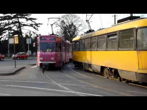 Tramvaie in Oradea (11 03 2011)