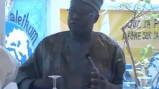 Cérémonie de Dédicace du Pr Iba Der Thiam