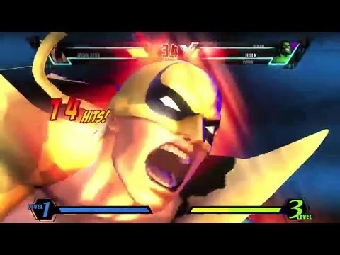 Ultimate Marvel vs Capcom 3 'Iron Fist, Ryu, Iron Man vs Vergil, Chris, Hulk' TRUE-HD QUALITY