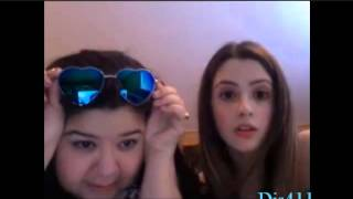 Laura Marano And Raini Rodriguez Live Chat July 19, 2013
