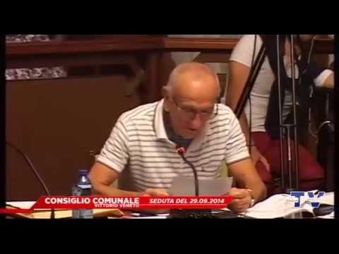 CONSIGLIO COMUNALE VITTORIO VENETO - Seduta del 29.09.2014