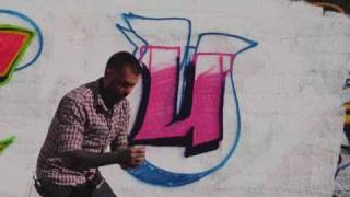 How To Draw A U Graffiti