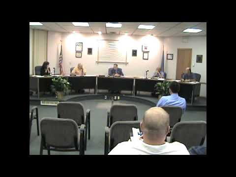 Rouses Point Village Board Meeting 8-15-11