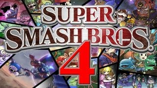 Super Smash Bros 4: Characters