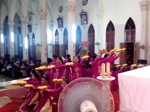 Dâng Hoa Giáo Sứ Bắc Giang - Giáo Phận Bắc Ninh