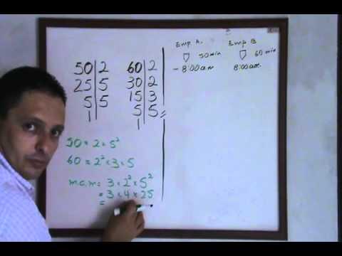 matematicas de secundaria: Mínimo Común Múltiplo