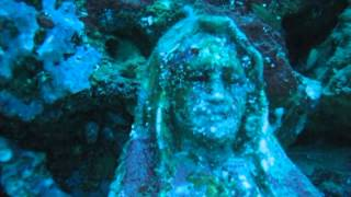 UNDERWATER STATUE OF THE VIRGIN MARY By Niño Muhlach